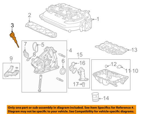 HONDA OEM Engine-Oil Fluid Dipstick 15650RCAA02