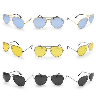 New Aviators Sunglasses Fashion 80s Retro Designer Shades Mens Womens Ladies