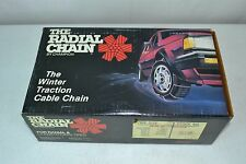 SCC Passenger Car Snow Tire Cables Chains 2611-SM Class S
