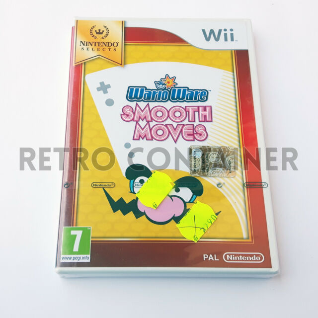 Nintendo WII - WARIO WARE SMOOTH MOVES - ITA PAL HD 1080 Nuovo Sigillato