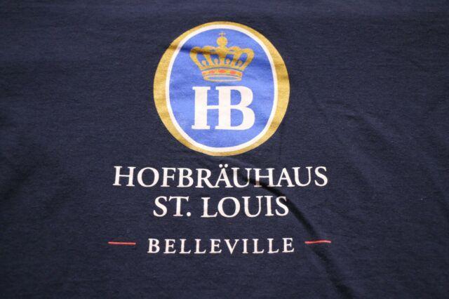 Hofbrauhaus St. Louis Belleville T-Shirt 2XL German Beer Shirt