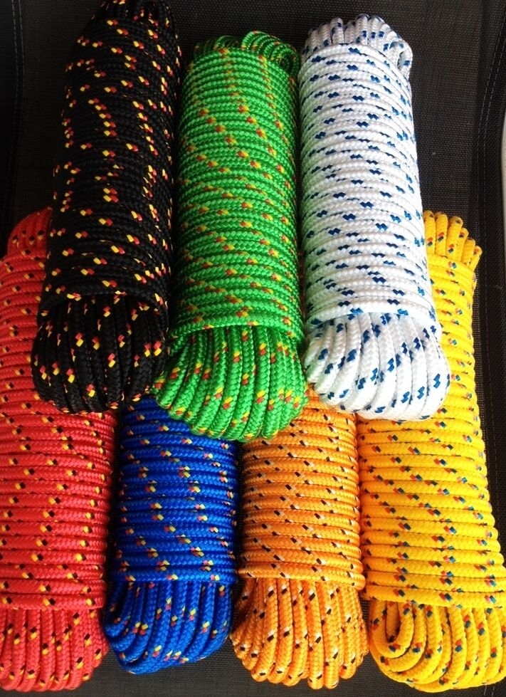 Line,Canvas 4-16 mm,30m,Spare cable,Rope,Rope,Anchor rope,Boat rope,