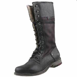 NEU Mustang Damenschuhe Schuhe Stiefeletten gefüttert Boots Winter-Stiefel