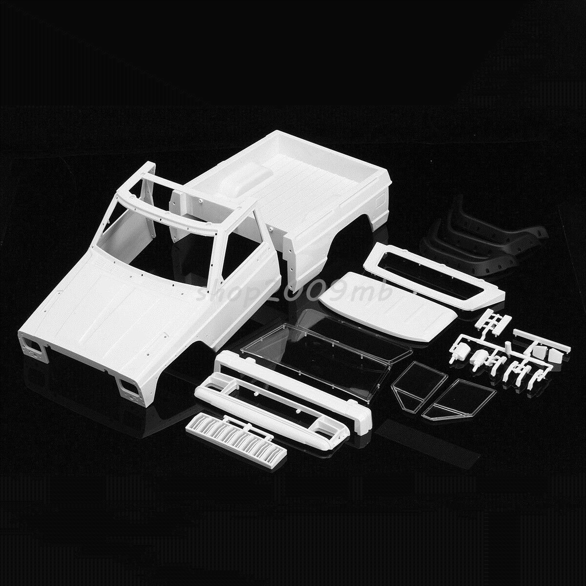 PVC duro Body Shell carrocería para SCX10 90046 1 10 rc crawler coche Bricolaje ACCS
