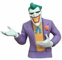 Batman The Animated Series Joker Vinyl Bust Bank Statue Diamond Select on sale