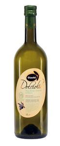 """Grosses Soldes 12 Bt.olio Extra Vergine D'oliva 1 Litro """" Dolciolio """" (bottiglia Leggera ) Un Enrichit Et Nutritif Pour Le Foie Et Les Rein"""