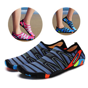 Women-Men-Swim-Beach-Shoe-Outdoor-Skin-Sports-Flats-Water-Shoes-Sandals-Slippers