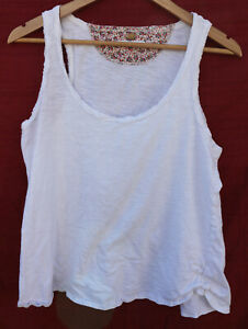 53ca3a605d5c5f Image is loading PURE-GOOD-white-cotton-sleeveless-BLOUSE-top-shirt-
