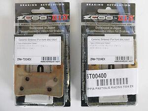 ZCOO-2-COPPIE-PASTIGLIE-FRENO-ANTERIORE-EX-PER-SUZUKI-GSX-R-750-2008-2009