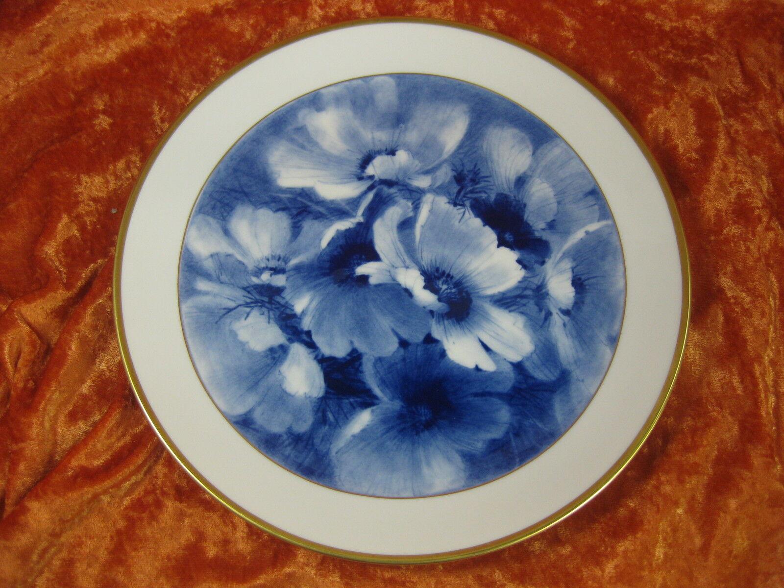 Meissen piatto parete 1 scelta piatto FIORE BLU FIORI PITTURA 1 scelta ottimo stato