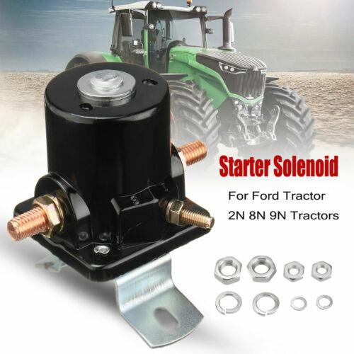 8N11450 New Ford New Holland Tractor 6V 3 Post Starter Solenoid 2N 8N 9N