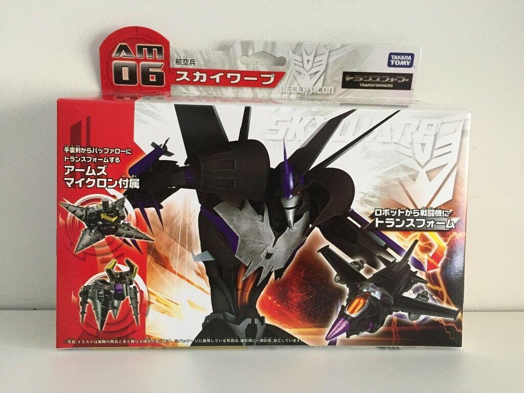 Takara Transformers Prime AM-06 Skywarp