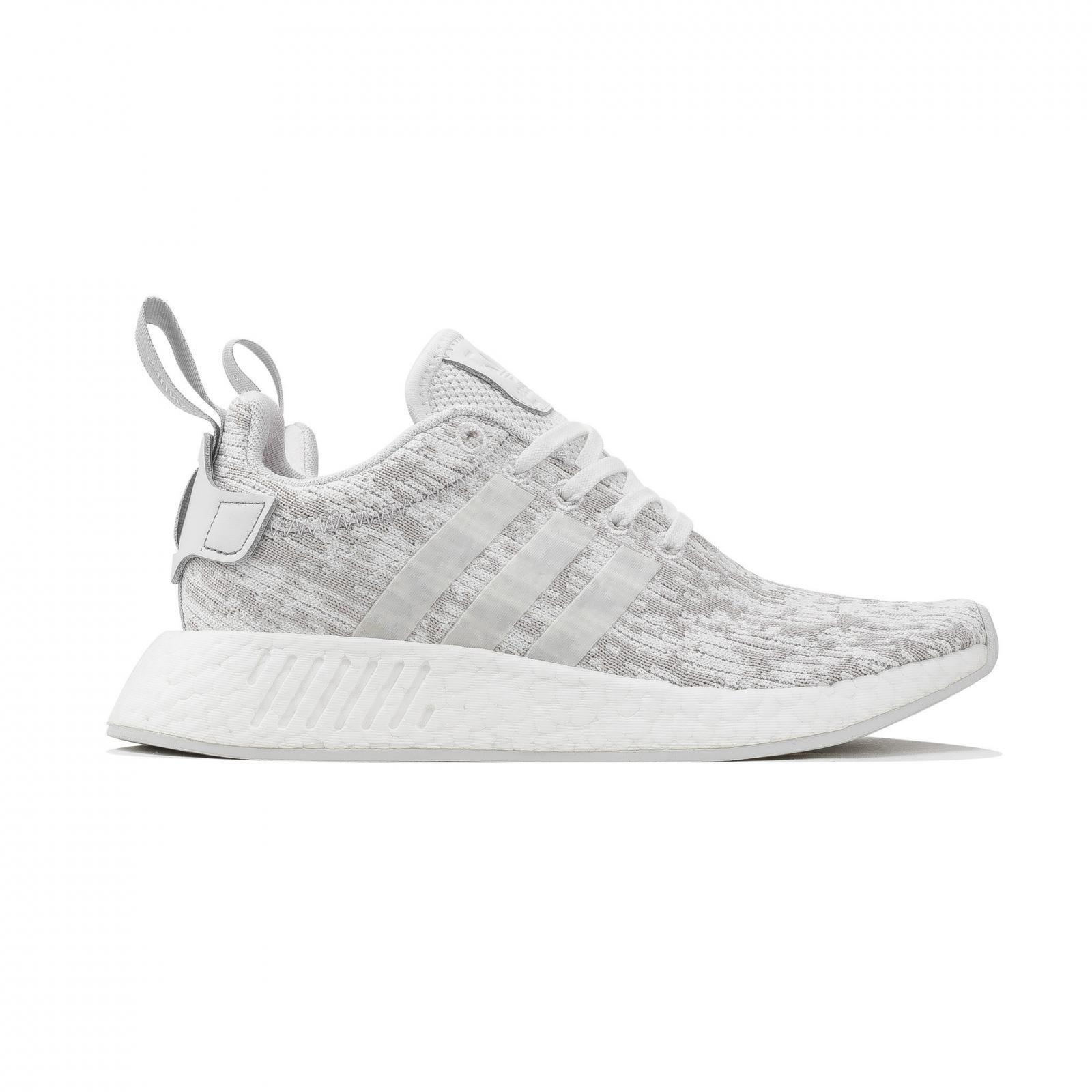 Womens Adidas NMD_R2 W White Running Trainers BY8691