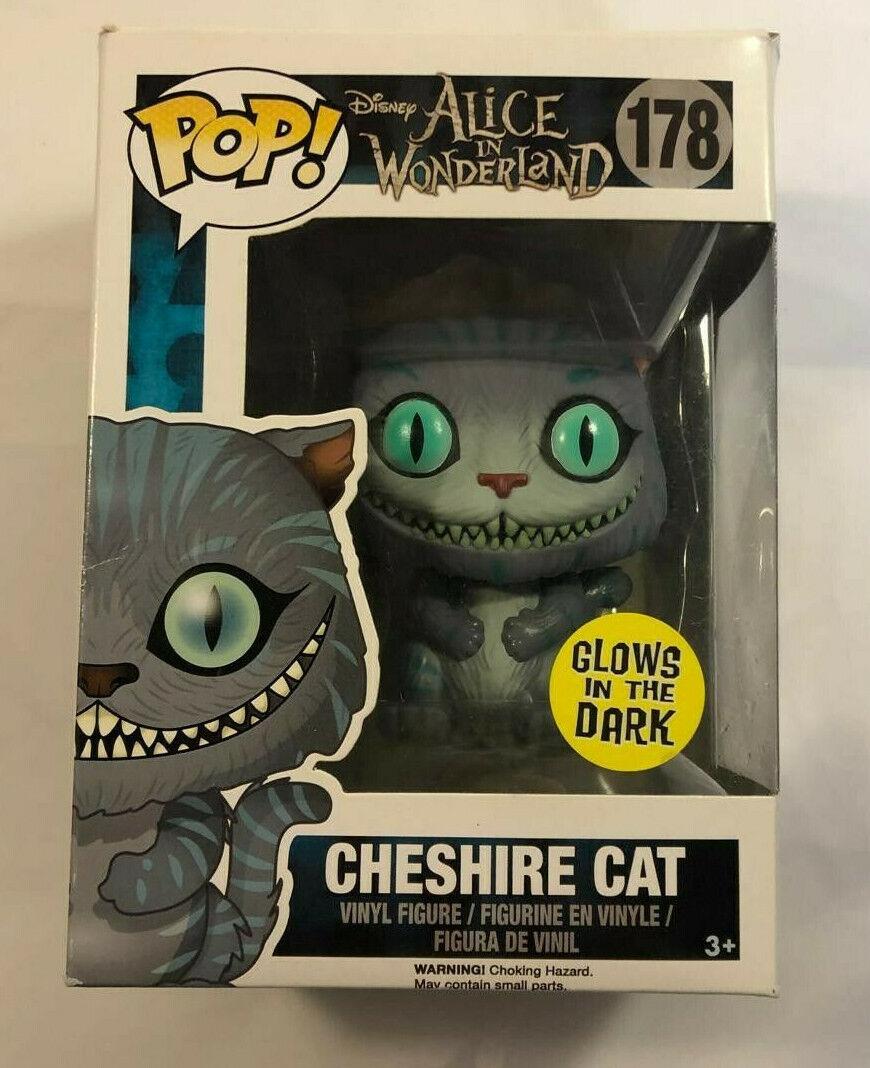 Funko Pop  Alice in Wonderland Cheshire Cat Glow in the Dark  RARE