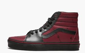 df95fe7dfa700 NEW Vans x Marvel Sk8-Hi Deadpool Shoes Multiple Sizes Mens Womens ...