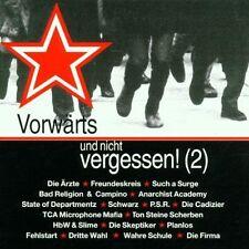 VORWÄRTS UND NICHT VERGESSEN! (2) Antifa Sampler CD (1999 Day-Glo) Neu!