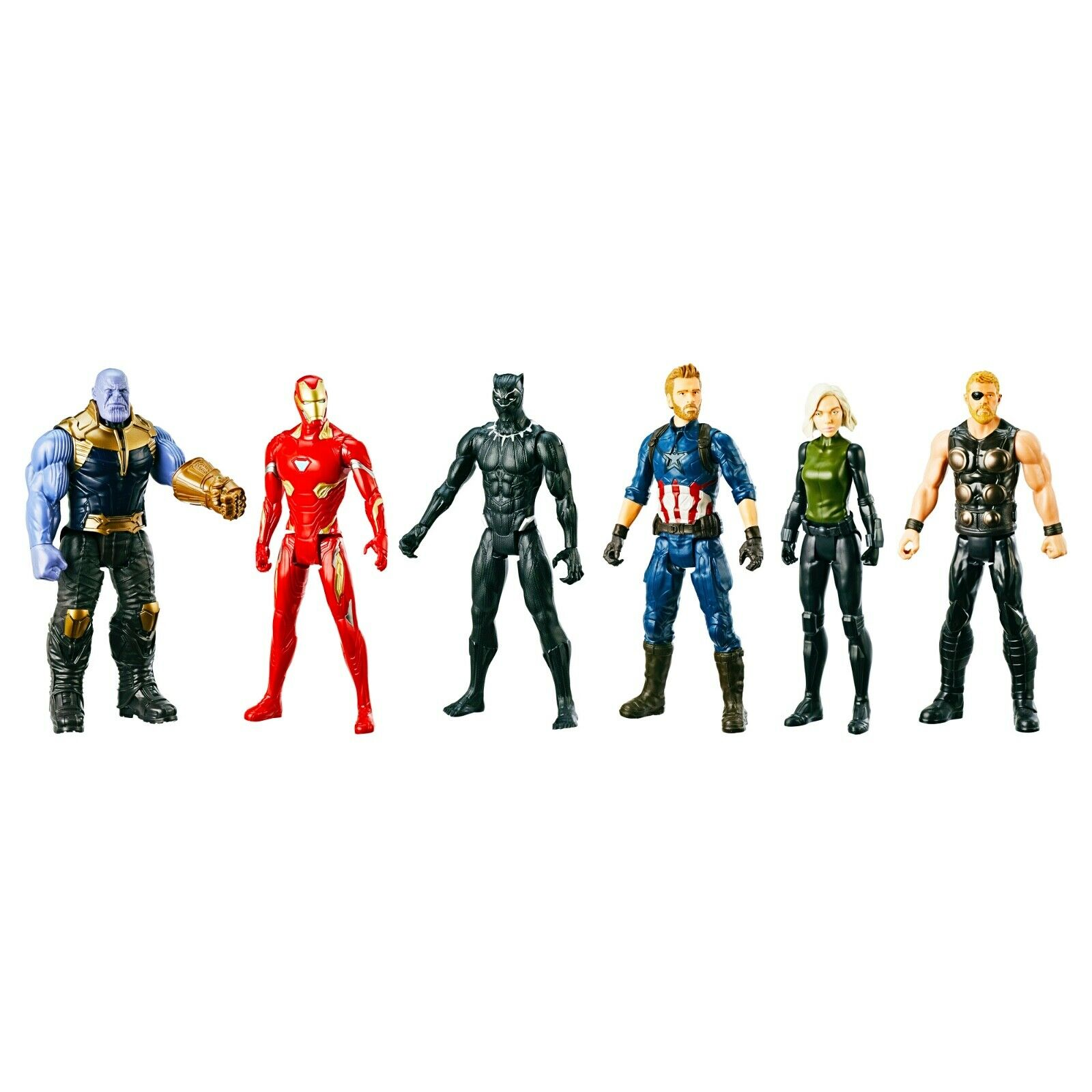 Marvel Avengers Infinity War Titan Hero Series Action Figure Set Walmart Ex