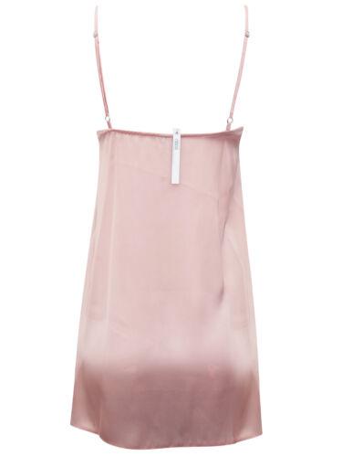 A S uper O nline S tore Women/'s Soft Satin /& Lace Trim Chemise Slip RRP £22.00