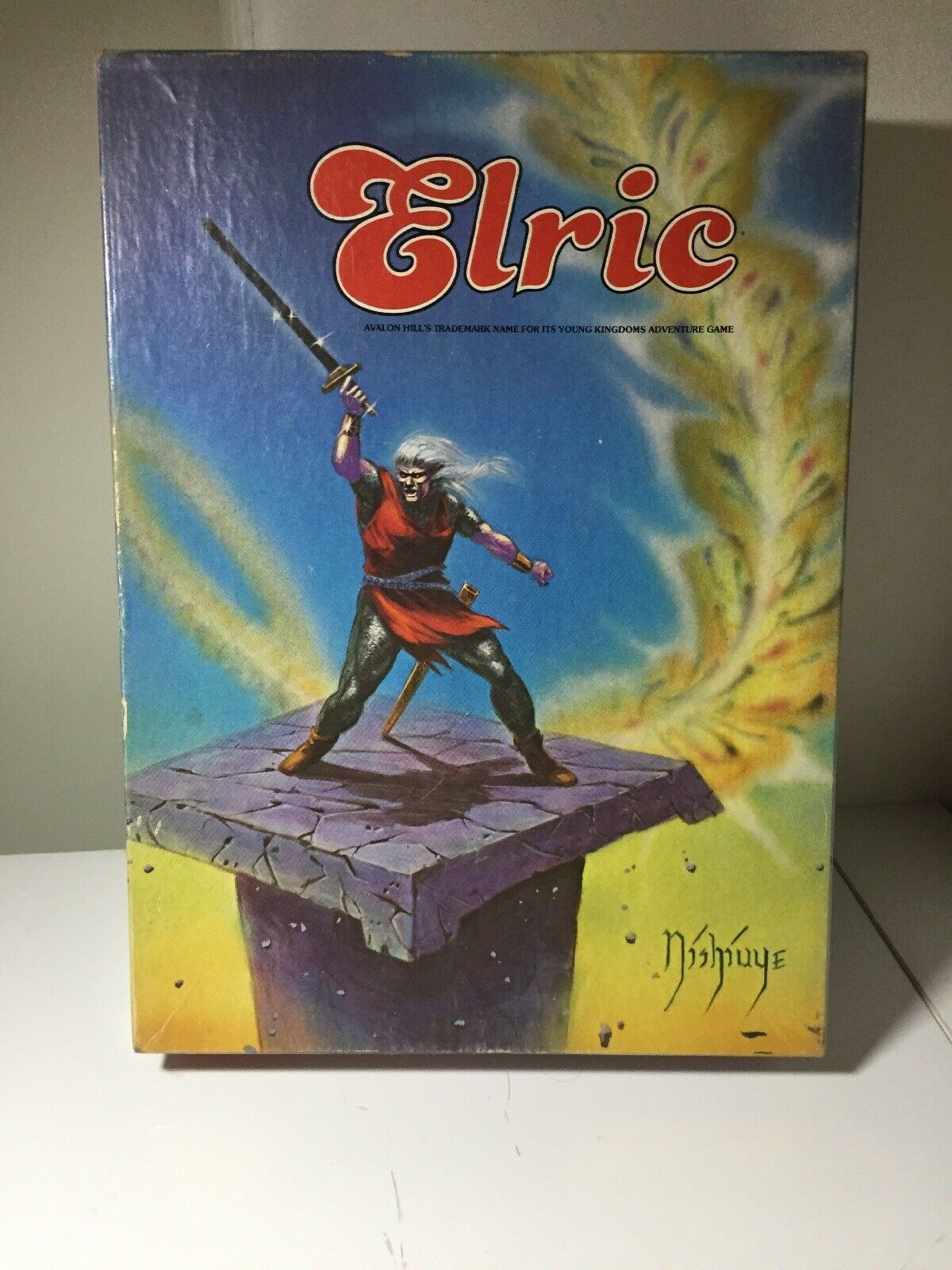 Elric Board Game, Avalon Hill, Complete, Unpunched