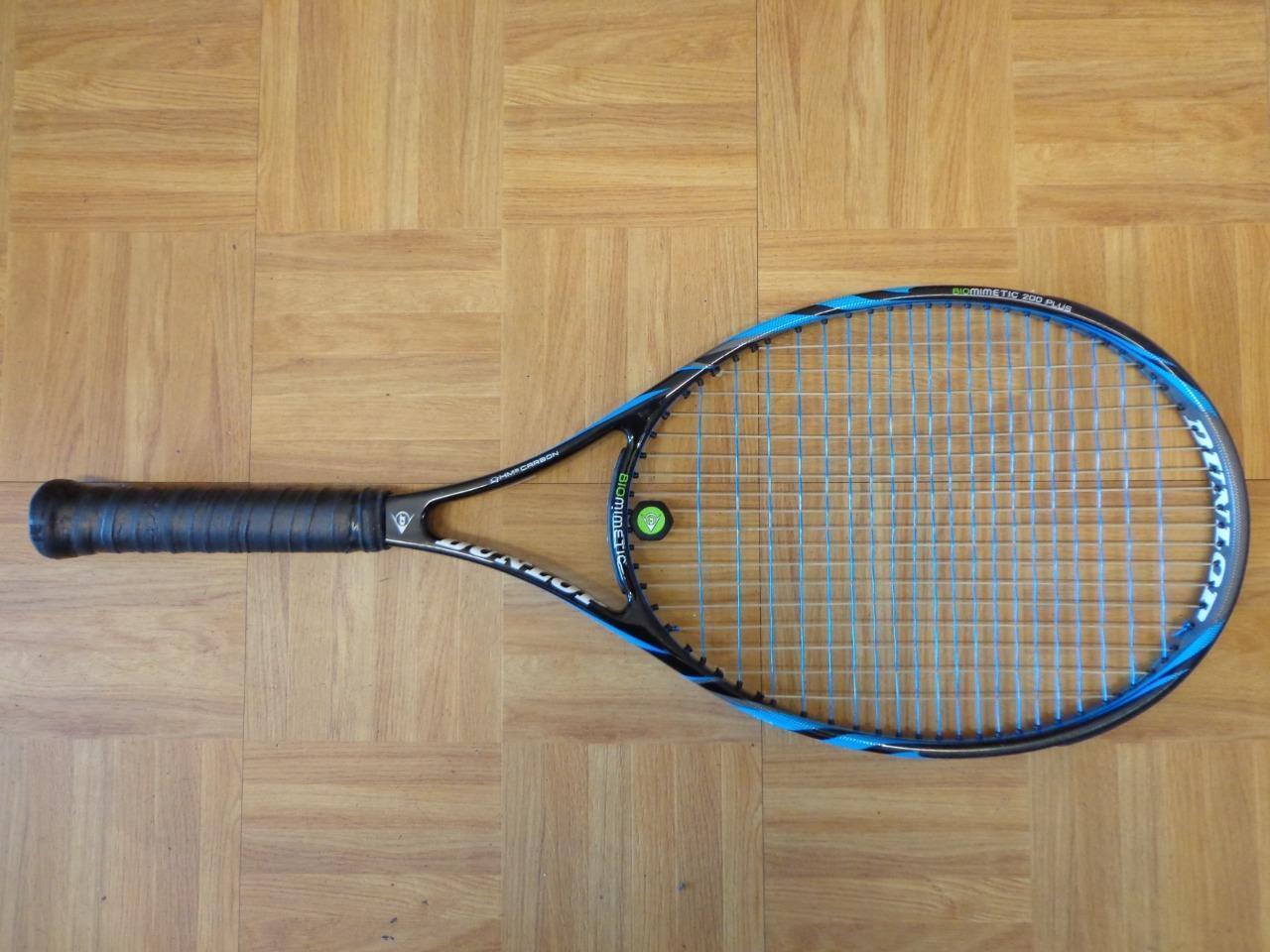 Dunlop Biomimetic 200 PLUS 100 head 4 3/8 grip Tennis Racquet