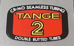 sku Tang808 TANGE MTB Tubing Decal
