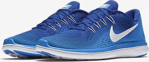 NIB homme NIKE FLEX Bleu 2018 RN FREE PHOTO Bleu FLEX blanc GYM athlétique fonctionnement chaussures b3186a