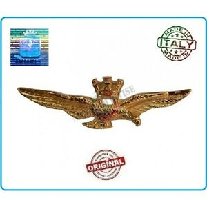 Brevetto Pilota Militare Pilot Wings Aeronautica Militare Prodotto Ufficiale Cam