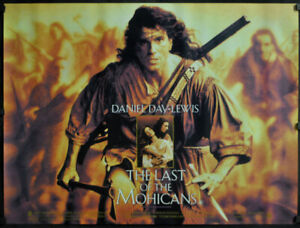 LAST-OF-THE-MOHICANS-1992-ORIG-30X40-BRIT-QUAD-MOVIE-POSTER-DANIEL-DAY-LEWIS