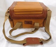 Vintage DIAMOND Camera Bag Case Model CQ-404 designed by Louis Lefkowitz & Bro