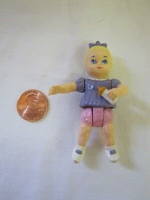Playskool Dollhouse BLONDE-HAIRED COLLEGE-AGED TEEN GIRL w// PONYTAIL BABYSITTER