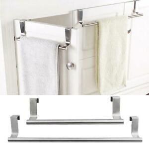 23-36cm-Over-Kitchen-Cabinet-Door-Tea-Hand-Towel-Rail-Holder-Hanger-Storage-Rack