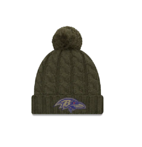 cheap for discount c4c4c 6b97f Image is loading Baltimore-Ravens-New-Era-2018-Women-039-s-