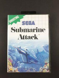 Submarine-Attack-Sega-Master-System-SMS-Aus-PAL-Missing-Manuall-1990