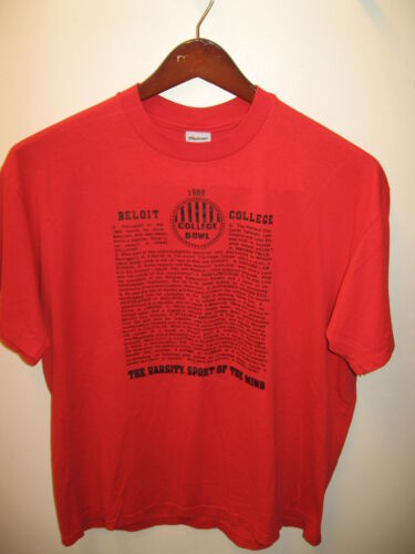 Beloit 1989 College Bowl Contest Big Bang Theory L