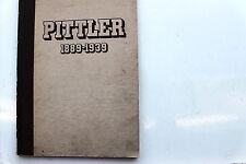 23380 Festschrift 50 Jahre Austauschbau Fa PITTLER Maschinen Leipzig Wahren 1939
