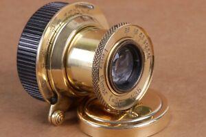 Leitz-Elmar-3-5-50-mm-RF-m39-Lens-Leica-Zeiss-eleitz-Wetzlar-excellent