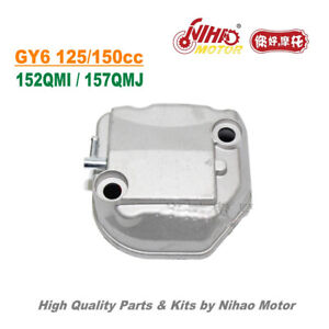TZ-52-WY-150cc-Cylinder-Head-Cover-61mm-GY6-Parts-Chinese-Scooter-Motorcycle