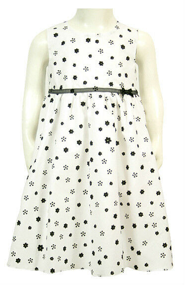 Kleid Mädchen Festkleid Blumenmädchen 68 74 80 86 92 NEU Baby Dress ärmellos