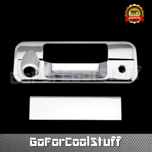 For Toyota Tundra 2007-2013 Chrome Trunk Tailgate Handle Cover With Cam Hole