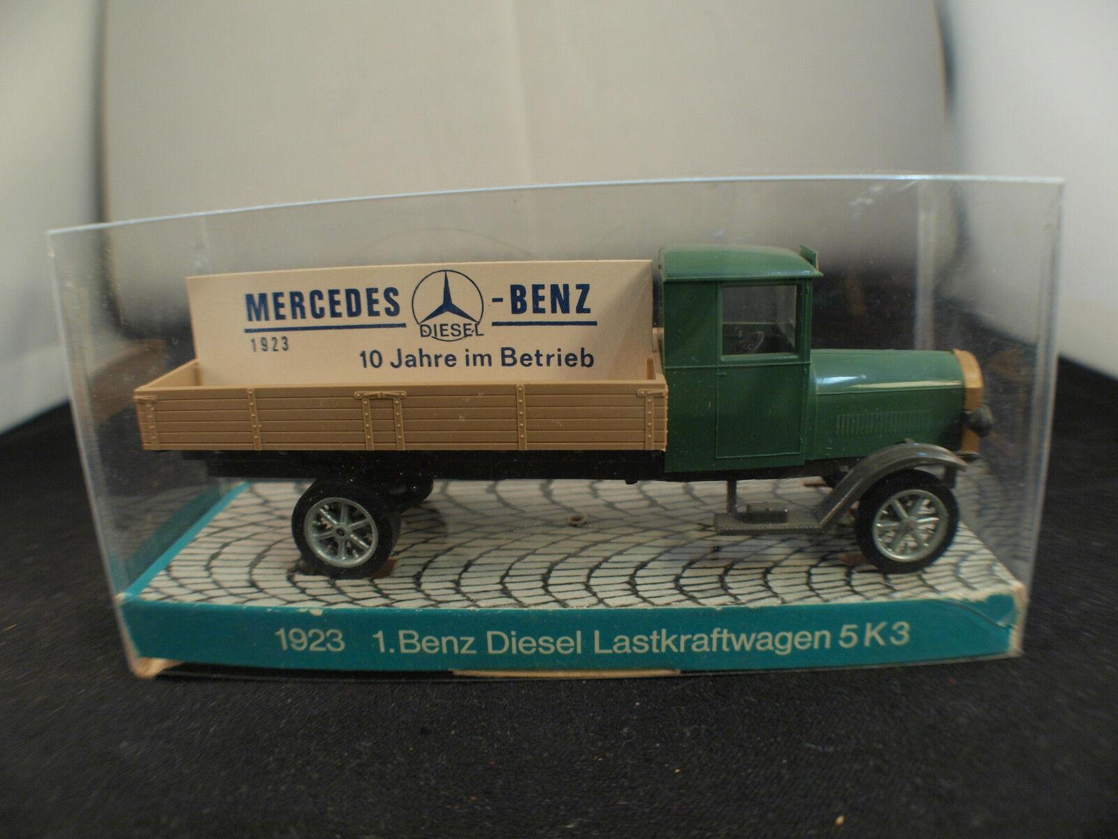 Markör modellllerlerl 474 Camion plateau Mercedes Benz Diesel Lastkraft Wagen 5K3 neuf