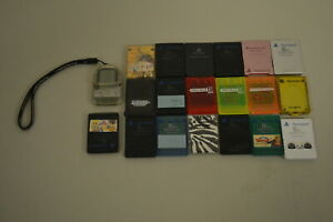 Sony-Playstation-1-amp-2-Memory-Cards-lot-off-20-Japan-PS1-PS2