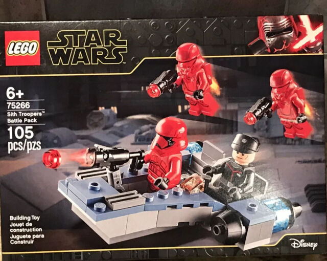 LEGO STAR WARS SITH JET TROOPERS TROOPER BATTLE PACK 75266 FACTORY SEALED