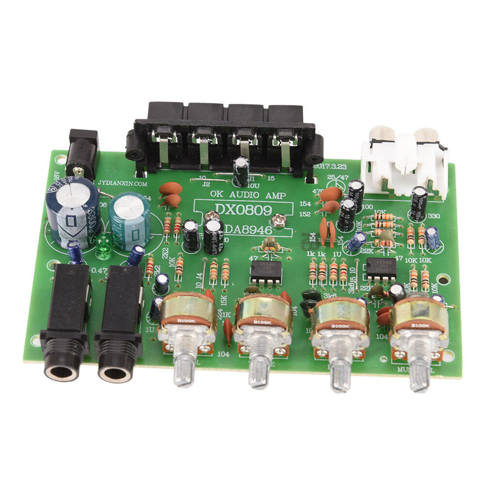 12v 60w Stereo Digital Audio Power Amplifier Board Electronic Aux Usb Circuit Buy Ch Ebay