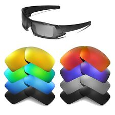 Walleva Replacement Lenses for Oakley Gascan Sunglasses - Multiple Options
