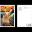Pokemon-Center-Japon-Pikachu-Eevee-Munch-The-Scream-Oficial-Tarjeta-Post miniatura 3