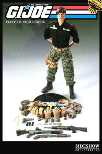 "JOE SAWED OFF SHOTGUN NEW 12/"" SEALED SHIPPER //650 SIDESHOW EXCLUSIVE FLINT G.I"