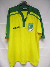 Maillot rugby ARBITRE HEINEKEN CUP vintage REFEREE shirt jersey Webb Ellis XL