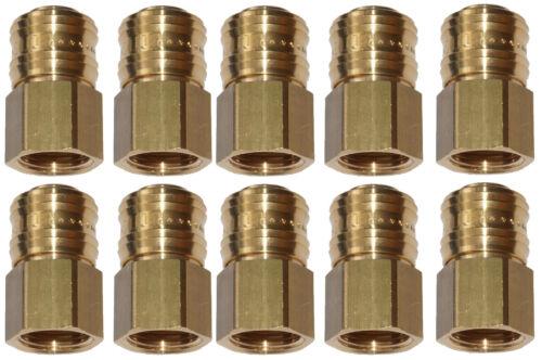 10x Druckluftkupplung Druckluft –Schnellkupplung Kupplungsdose NW7 IG ver.Größen
