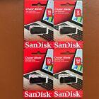 NEW SanDisk 8/16/32/64 GB Cruzer Blade CZ50 USB 2.0 Flash Memory Stick Pen Drive