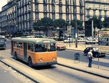 Photo. 1978-9. Naples, Italy. 1961 Alfa Romeo Trolleybus